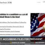 NNNの陰謀?!アメリカ大統領選挙に立候補したエリート猫が現る!